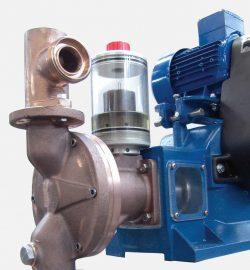 Piston-diaphragm pumps